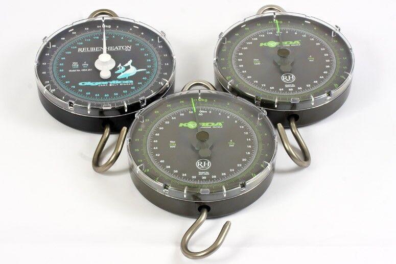 Korda NEW Limited Edition Reuben Heaton Carp Fishing Scales All Sizes