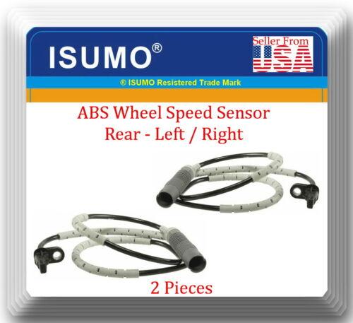 Rear L//R Fits 4 x ABS Wheel Speed Sensor Front 135I 328I 330I 335D 335I 335IS
