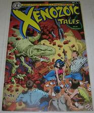 XENOZOIC TALES #1 (Kitchen Sink 1986) 1st PRINT (FN) Mark Schultz story & art