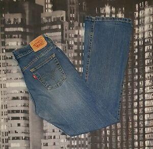 LEVI-039-S-Damen-Jeans-W29-L31-hosengroesse-38-Modell-515-BOOT-CUT-Authentisch
