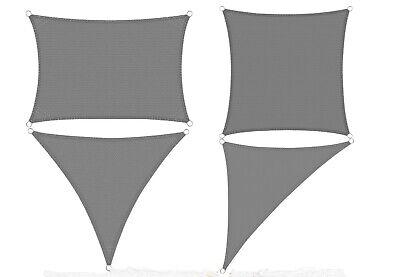 Sonnenschutz Tarp Windschutz HDPE UV-Schutz Garten Balkon verschiedenes Grösse