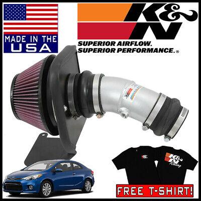 Guaranteed to Increase Horsepower: 2014 KIA Forte, Forte Koup 69-5314TS K/&N Cold Air Intake Kit: High Performance