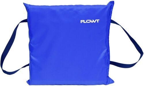 Flowt 40101 Type IV Throwable Floatation Foam Cushion USCG Approved Blue
