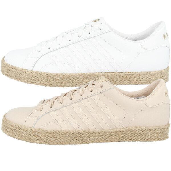 K-Swiss Belmont pour Jute chaussures femmes femmes Loisirs Turnchaussures basses 96139