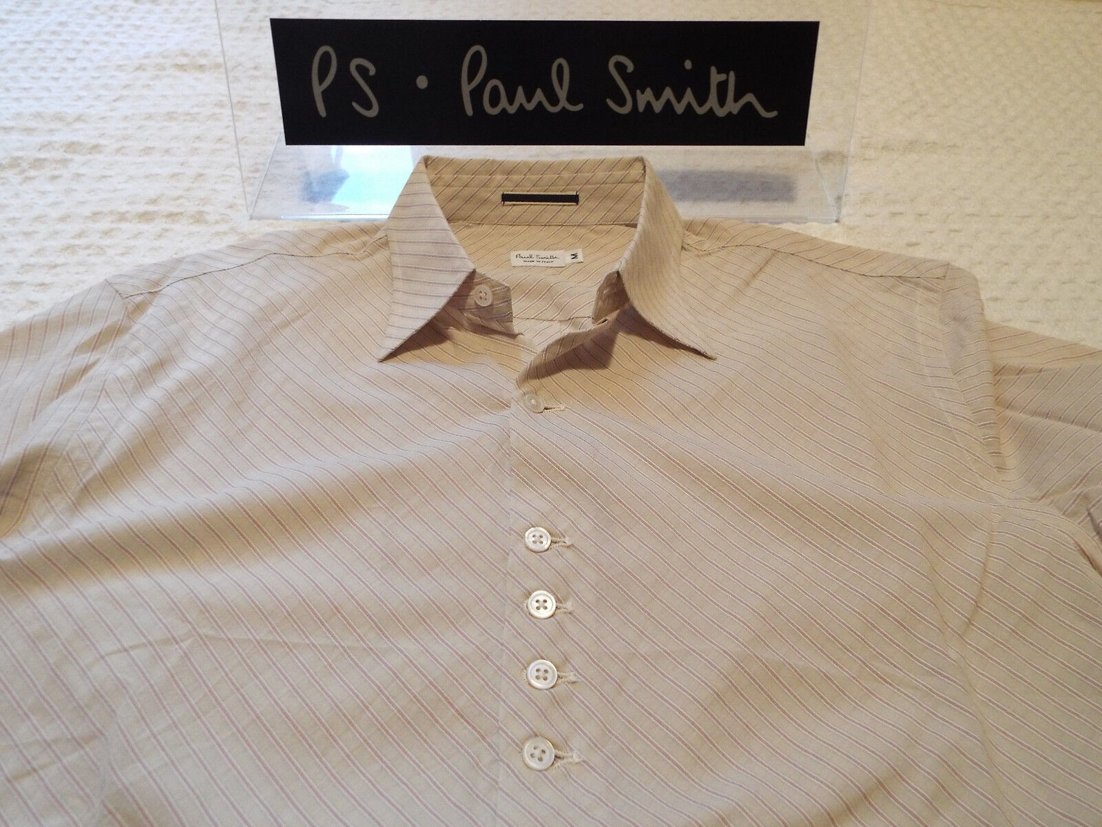 PAUL PAUL PAUL SMITH Mens MAINLINE Shirt  Größe M (CHEST 38 ) +DIAGONAL STRIPE | Marke  9ac47c