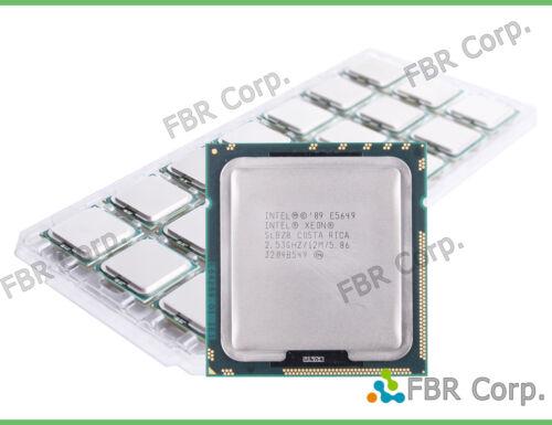 MINT Lot 2 Intel Xeon E5649 SLBZ8 6-Core 12MB 2.53GHz LGA1366 Processor CPU