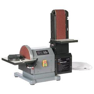 Sip 01946 Woodworking Belt And Disc Sander Linisher 230v