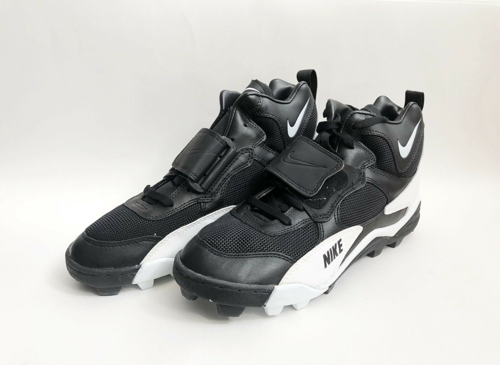 Vintage nike air speed shark football cleats mens size 13 deadstock NIB 1995