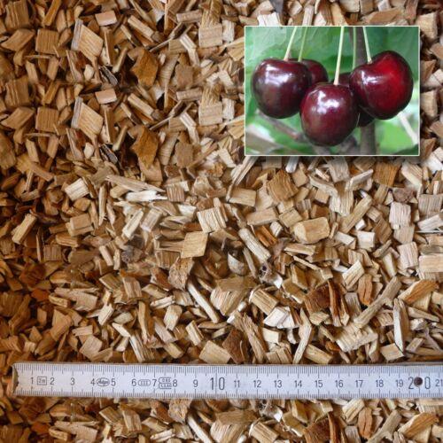 15 kg Räucherspäne Kirsche 10 mm BBQ Barbeque Holzkohle Kugelgrill Smoker