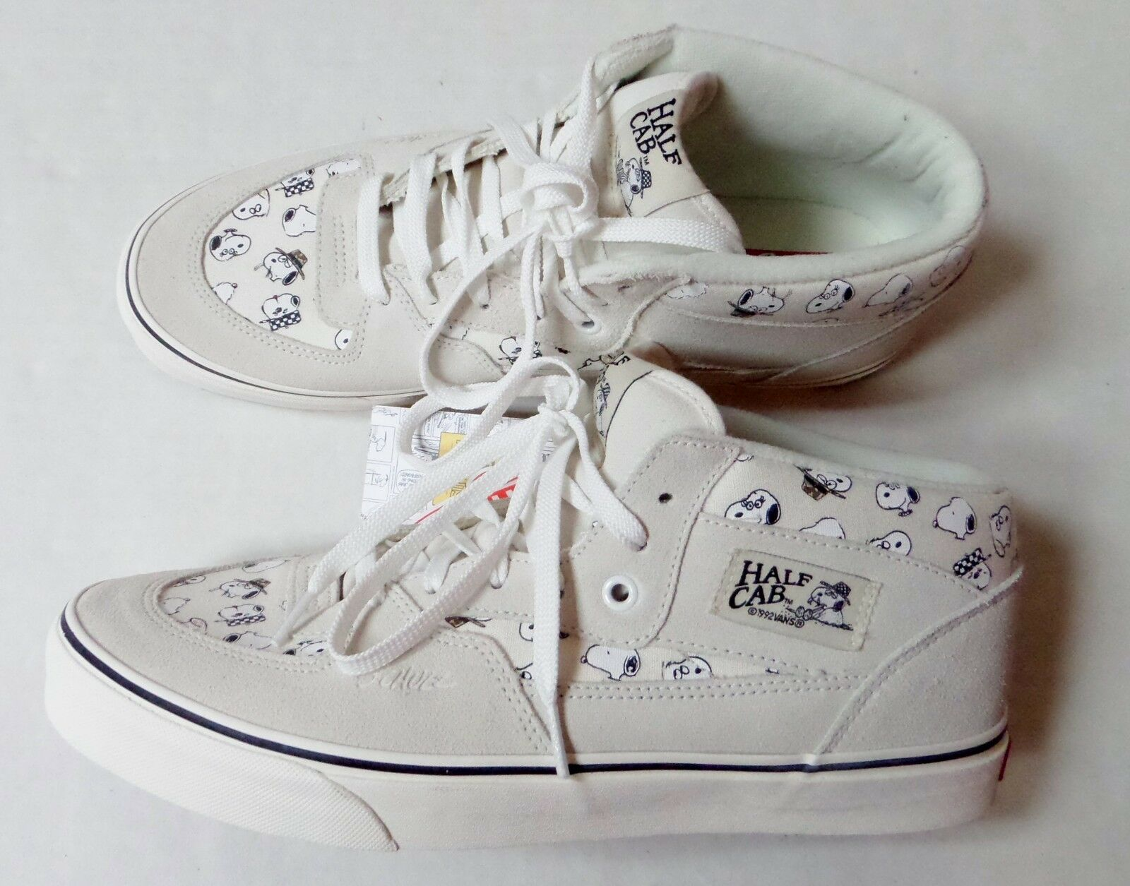 Vans Peanuts HALF CAB Snoopy Spike Suede Shoes