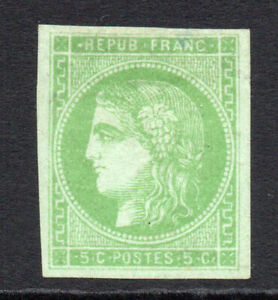 France-5-Cent-Stamp-c1870-71-Mounted-Mint-1436