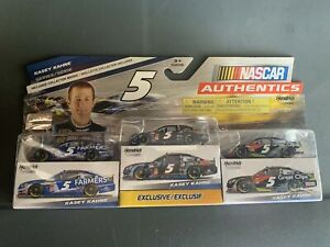 Kasey-Kahne-Nascar-Authentics-3-Pack-Limited-Edition-1-64-Diecast