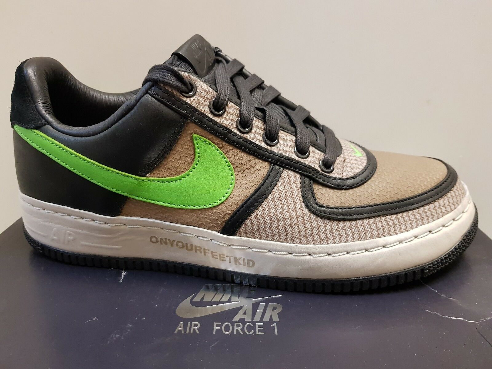Undefeated X Nike Air Force One, UK Size 9, AF1,