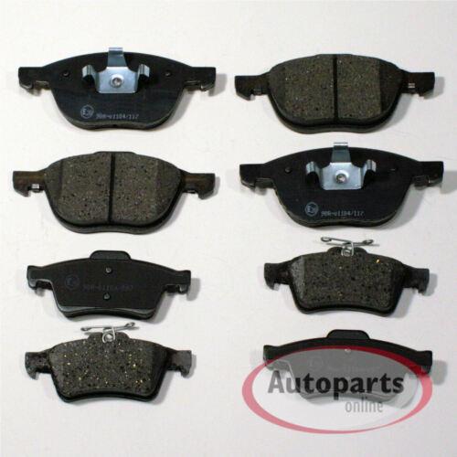 Volvo S40 Bremsbeläge Bremsklötze Bremsen für vorne hinten