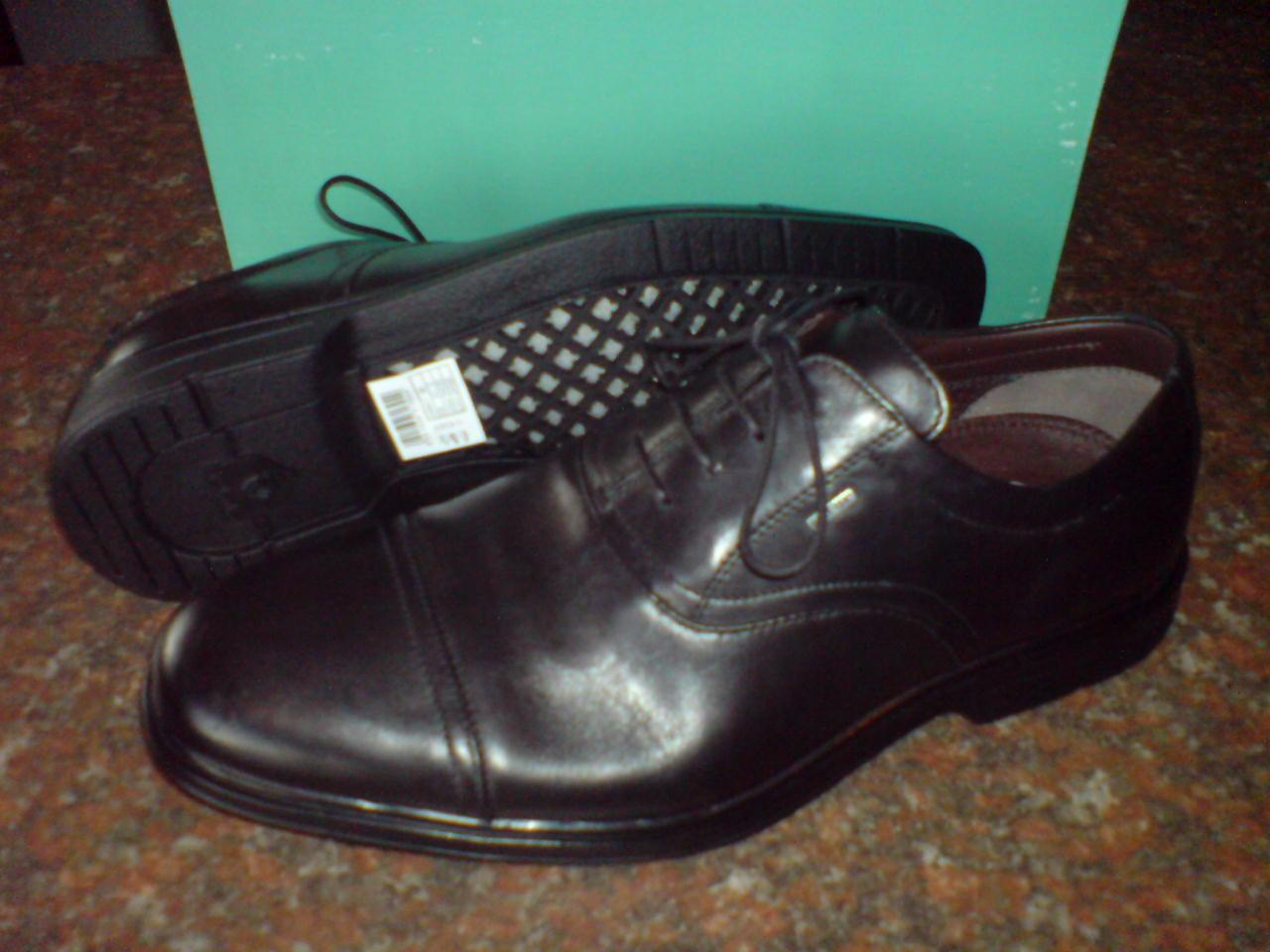 Clarks da uomo eleganti Coola VIAGGI GTX NERO LEA IMPERMEABILE / VERO 8 Scarpe classiche da uomo