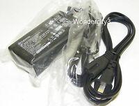 Gateway 19v 65w 5.5mm / 2.5mm Ac Adapter For Select Fujitsu Hp Lenevo Nec Laptop