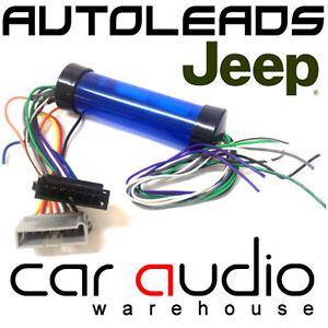 jeep wrangler 1997 2005 car stereo amplified amp bypass wiring rh ebay co uk