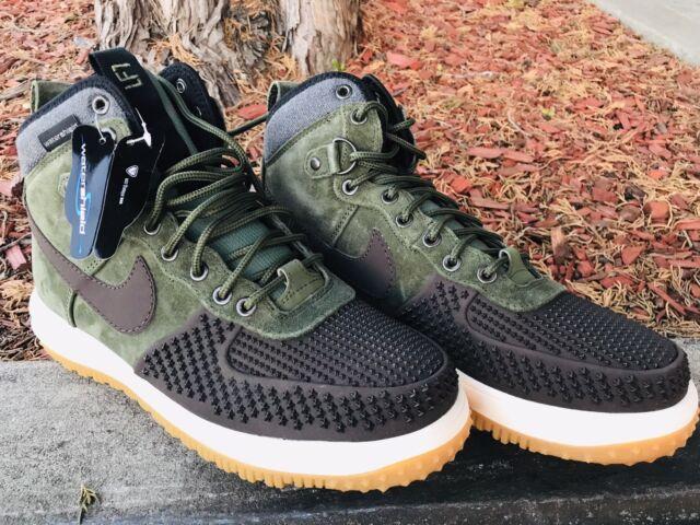 Nike Lunar Force 1 Duckboot ARMY GREEN  
