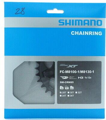 Shimano XT FC-M8100//M8130 Chainring 30T Black