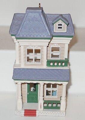 House on Main Street Nostalgic Houses /& Shops 4th in Series 1987 Hallmark Ornament QX4839