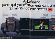 PUBLICITE ADVERTISING 095 1981 Agfa Family (2 pages)