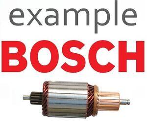 BOSCH Starter Armature fits CASE IH VW 1004011268