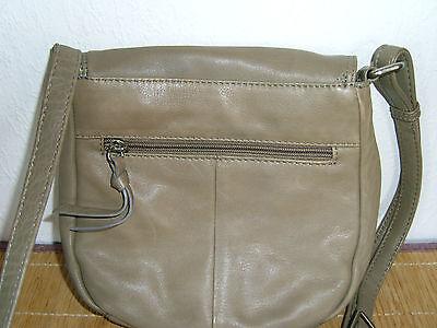 Zwei Echt Leder Handtaschen Neu mit Auffallenden Nähten auch einzeln zu kaufen