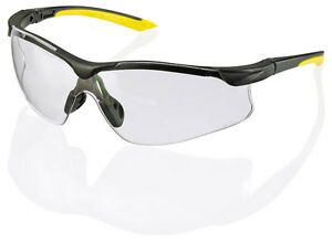 10-x-B-Brand-BBYS-YALE-Safety-Eye-Protection-Spectacles-Glasses-CLEAR-Lens