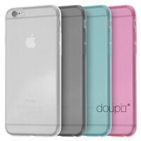 TPU UltraSlim Case für iPhone 6 6s Plus Schutz Hülle Silikon Cover Clear Farbe