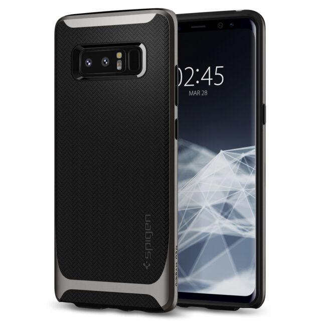 best service 4ed19 9df90 For Samsung Galaxy Note 8 Spigen® [Neo Hybrid] Shockproof Bumper TPU Cover  Case