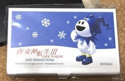 Shin Megami Tensei III NOCTURNE Jack o/' Frost Metal Card Case Rakuten Atlus