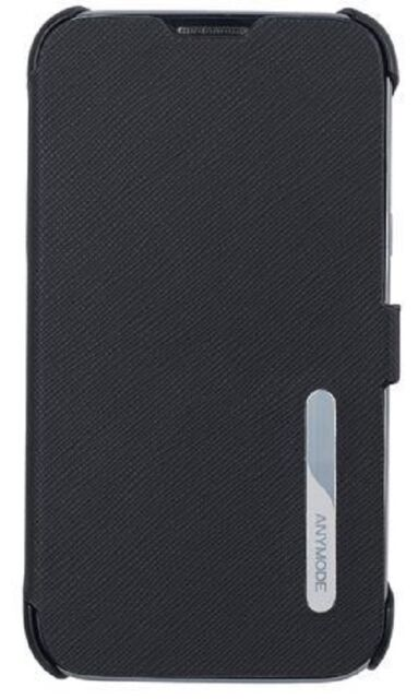 ETUI FOLIO CASE ORIGINE ANYMODE POUR SAMSUNG GALAXY NOTE 2 N7100 NOIR