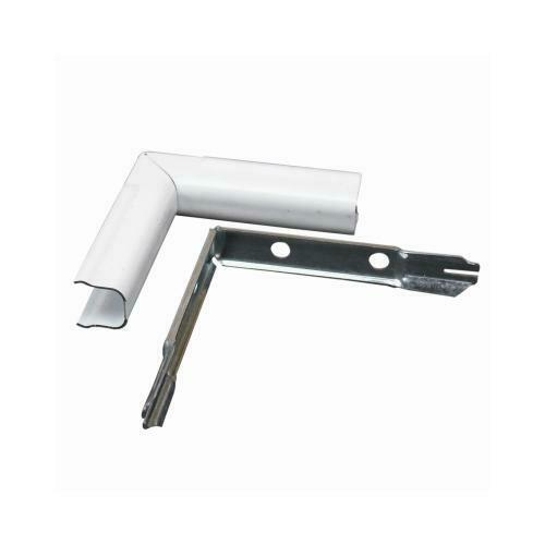 Wiremold Bwh7 White Cordmate Inside Elbow For Sale Online Ebay