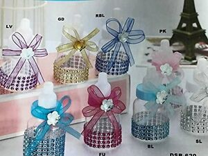 10 Baby Bottle Fillable Baby Shower Favors Gift Decoration Ideas Ebay