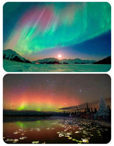 3D Lenticular Magnet Card Aurora Borealis