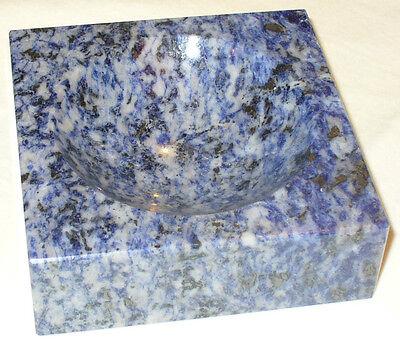 Fornito (prl) African Blue Sodalite Preziosa Pietra Sudafrica Lusso Lux Gift Regalo New Possedere Sapori Cinesi