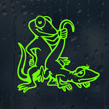 Funny Humping Lizards Car Decal Vinyl Sticker For Panel Bumper Window
