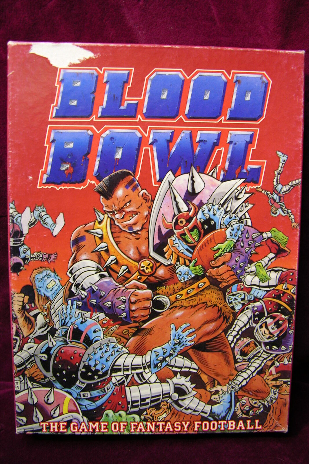 GAMES WORKSHOP     BLOOD BOWL  1st EDITION     1986  PLUS EXTRA's
