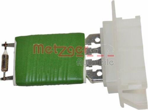 innenraumgebläse pieza de recambio original 0917290 Metzger resistencia