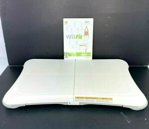 Nintendo-Wii-Fit-Balance-Board-Bundle-With-Wii-Fit-Plus-Game-Tested-and-Working