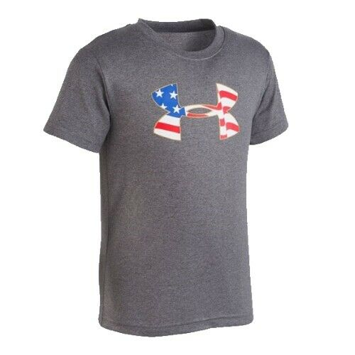 New Under Armour Little Boys Graphic Print T-Shirt SIZE 2,3,4,5,6,7 MSRP:$18.00