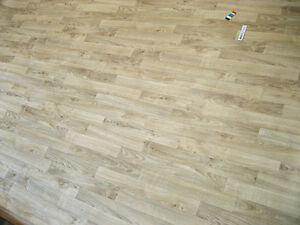 7802 PVC Belag 383x200 Boden Rest Eiche Schiffsboden Holz Dekor ...