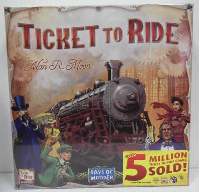 Ticket to Ride - New - Sealed