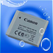 Canon NB 6lh NB 6l Genuine Original Battery for IXUS 25 Is 85 Is