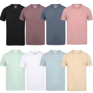 POLO-da-Uomo-Tokyo-Laundry-ZAC-Girocollo-Cotone-Rich-Leggero-T-Shirt-Taglia-S-XL