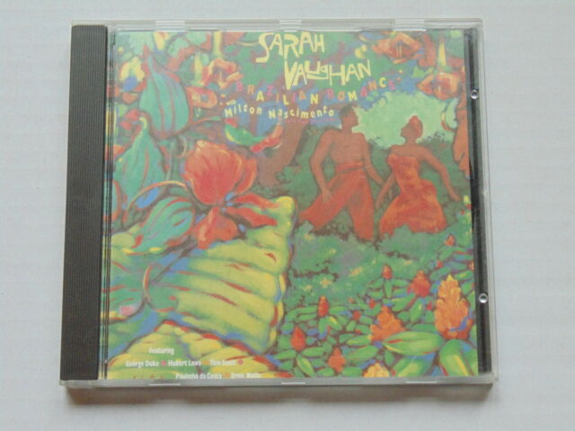 CD SARAH VAUGHAN & MILTON NASCIMENTO - BRAZILIAN ROMANCE It's Simple, Romance