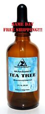 TEA TREE ESSENTIAL OIL AROMATHERAPY NATURAL 100% PURE  GLASS DROPP 2.0 OZ, 59 ml