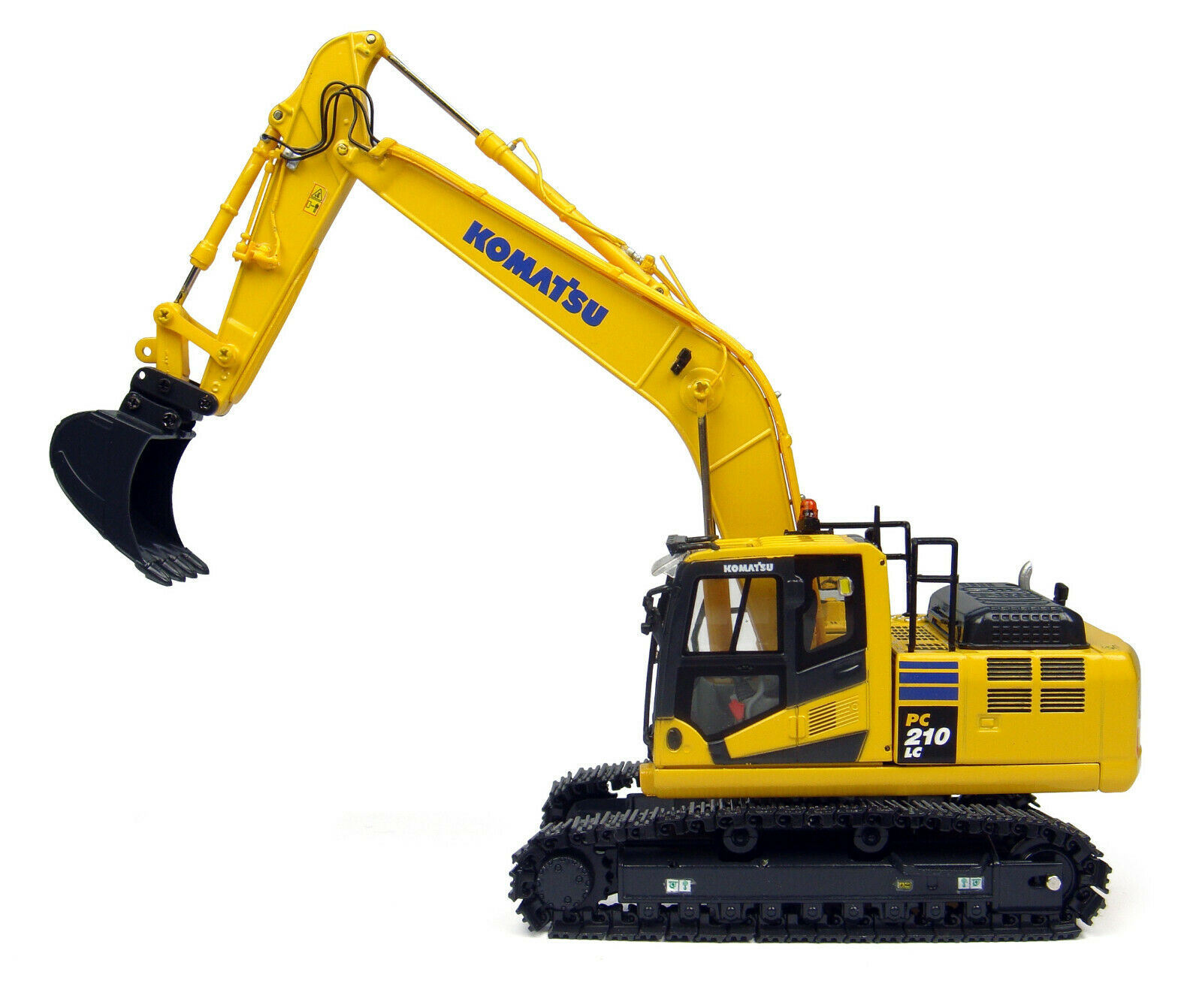 Komatsu PC210LC-10 chenilles Excavatrice 1 50 diecast modèle Universal Hobbies UH8093