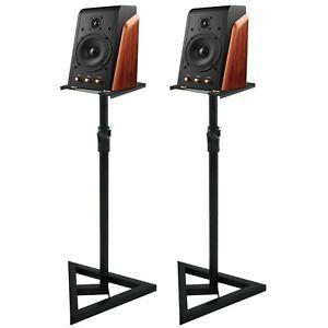 Studio-Monitor-Speaker-Stand-Height-Adjustable-Pair-Concert-Band-DJ-Studio