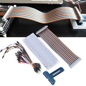 T-GPIO-Expansion-Board-Breakout-DIY-Kit-40Pin-Cable-For-Raspberry-Pi-B-3-2